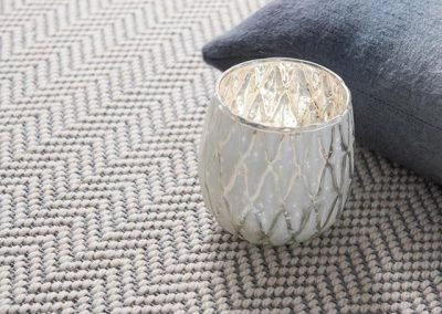 Fibre Flooring Flatweave Classic Herringbone Lunar carpet