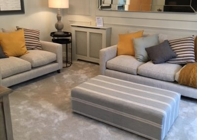 lounge carpet at Linden Homes Thornbury, Bristol Show Home