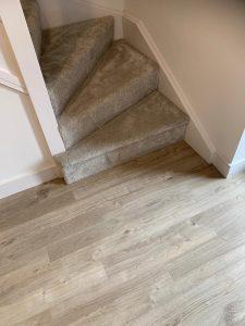 Gentle Touch - Abingdon carpets installed at Linden Homes, Thornbury Bristol