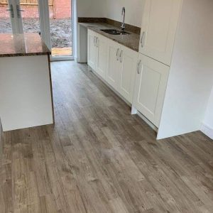 Amtico LVT flooring supplied and fitted at Linden Homes at The Orchards, Thornbury, Bristol