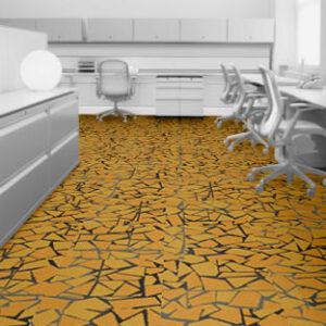 interface carpet tiles 8344004 yellow
