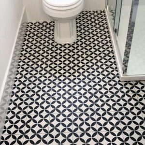 Lifestyle Floors Rococo vinyl colour Delight Charcoal
