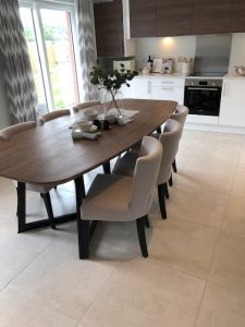 Redrow Homes Stonehouse Showhome Dining Room