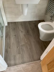 LVT supplied and fitted by Phoenix Flooring Limited Redrow Homes Warminster