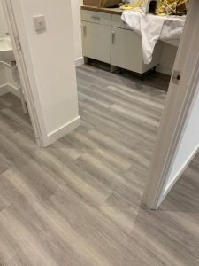 Amtico Spacia LVT colour Nordic Oak supplied and fitted by Phoenix Flooring Limited.