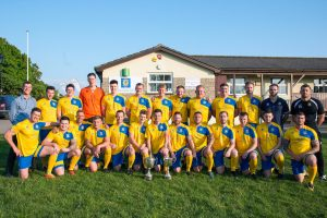 Olveston United AFC - team squad photo