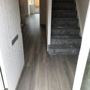 Amtico installed at Linden Homes - Hallway