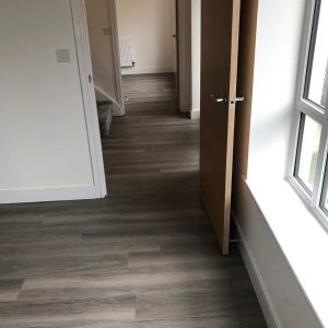 Amtico installed at Linden Homes - Living Room