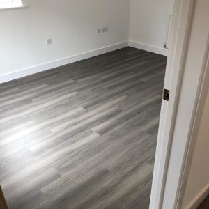 Amtico installed at Linden Homes